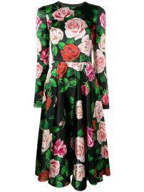Dolce   Gabbana Floral Print Midi Dress - Farfetch at Farfetch