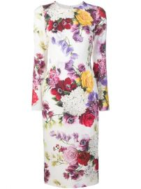 Dolce   Gabbana Floral Print Pencil Dress - Farfetch at Farfetch