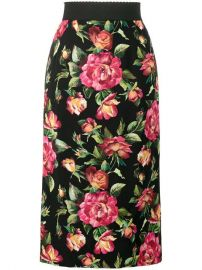 Dolce   Gabbana Floral Print Pencil Skirt  - Farfetch at Farfetch