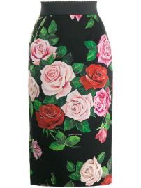 Dolce   Gabbana Floral Print Skirt - Farfetch at Farfetch