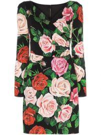 Dolce   Gabbana Floral Print Wrap Dress  - Farfetch at Farfetch