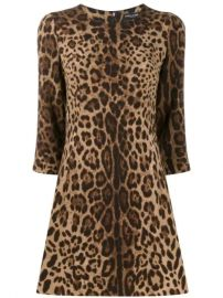 Dolce   Gabbana Leopard Print Dress - Farfetch at Farfetch