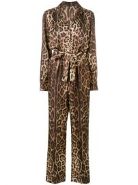 Dolce   Gabbana Leopard Print Jumpsuit - Farfetch at Farfetch