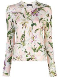 Dolce   Gabbana Lily Print Cardigan - Farfetch at Farfetch