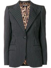 Dolce   Gabbana Pinstripe Blazer - Farfetch at Farfetch