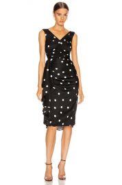 Dolce   Gabbana Polka Dots Dress in Black   FWRD at Forward