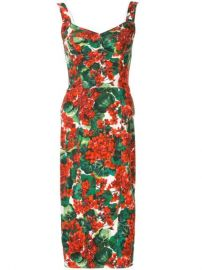 Dolce   Gabbana Portofino Print Cady Bustier Dress - Farfetch at Farfetch