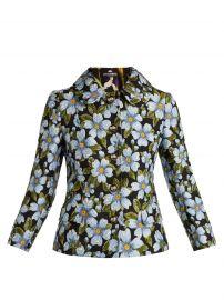 Dolce & Gabbana Floral Jacquard Jacket at Matches