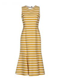 Dolce  amp  Gabbana 3 4 Length Dress at Yoox