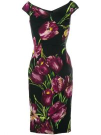 Dolce  amp  Gabbana Floral Print Dress  2 575 - Buy AW16 Online - Fast Delivery  Price at Farfetch