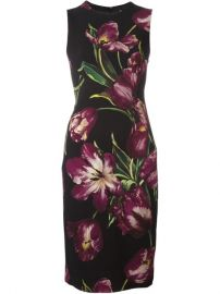 Dolce  amp  Gabbana Tulip Print Dress at Farfetch
