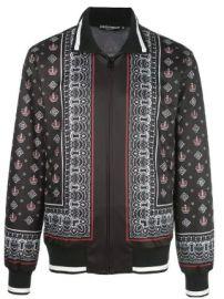 Dolce  amp  Gabbana bandana print jacket  bandana print jacket at Farfetch