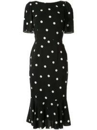 Dolce  amp  Gabbana polka-dot print dress  polka-dot print dress at Farfetch