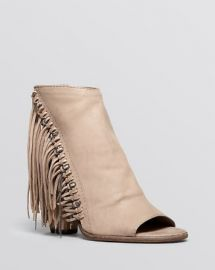 Dolce Vita Open Toe Booties - Noralee Fringe at Bloomingdales