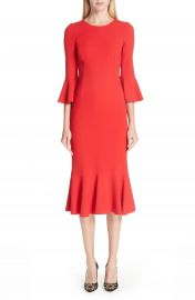 Dolce amp Gabbana Ruffle Hem Dress   Nordstrom at Nordstrom