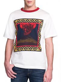 Dolce and Gabbana - Volcano Print Cotton Tee at Saks Fifth Avenue