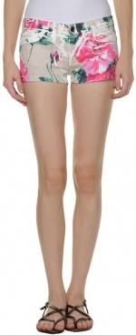 Dolce and Gabbana floral shorts at Yoox