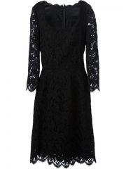Dolce andamp Gabbana Lace Dress - at Farfetch