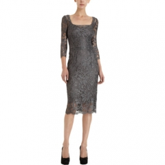 Dolce andamp Gabbana Lace Sheath Dress at Barneys