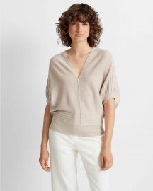 Dolman Sleeve V-neck Sweater at Club Monaco