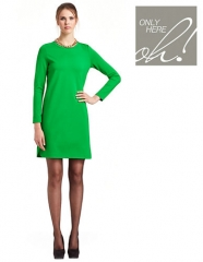 Dolphin Hem Dress at Lord & Taylor