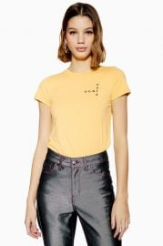 Don\'t Hate Crossword T-Shirt by Topshop at Topshop