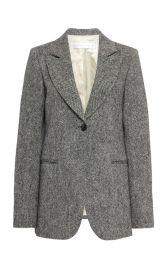 Donegal Tweed Blazer by Victoria Beckham at Moda Operandi