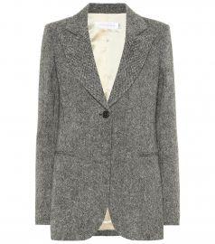 Donegal tweed blazer at Mytheresa