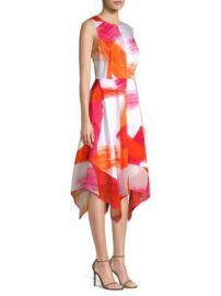 Donna Karan New York - Crewneck Trapeze  Dress at Saks Fifth Avenue