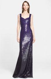 Donna Karan New York Sweetheart Neckline Sequin Gown at Nordstrom