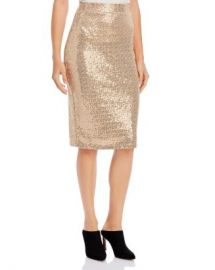 Donna Karan Sequined Midi Skirt Women - Bloomingdale s at Bloomingdales
