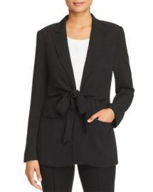 Donna Karan Tie-Front Jacket Women - Bloomingdale s at Bloomingdales