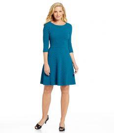 Donna Morgan Textured Knit Dress at Dillards