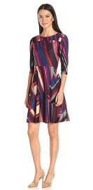 Donna Morgan Women\'s Fit and Flare Dress at Amazon