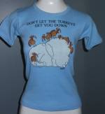 Dont let the turkeys get you down tee at Etsy