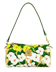 Dooney and Bourke floral barrel bag at Lord & Taylor