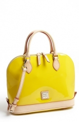 Dooney andamp Bourke Patent Leather Satchel at Nordstrom
