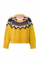 Dorothee Schumacher Wild Wonder Instarsia Wool-Blend Sweater at Moda Operandi