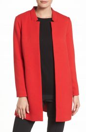 Dorothy Perkins Open Car Coat at Nordstrom