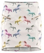 Dorrits horse print skirt at H&m