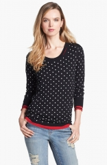 Dot Sweater by Vince Camuto at Nordstrom