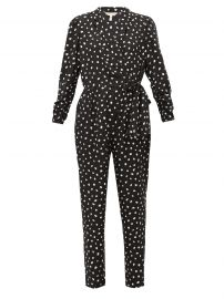 Dot Wrap Jumpsuit by Rebecca Taylor at Matches