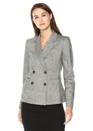 Double Breasted Blazer by Theory at Amazon