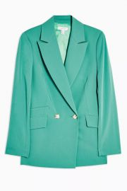 Double Breasted Blazer by Topshop at Topshop