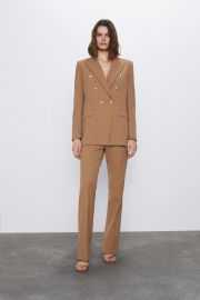 Double Breasted Buttoned Blazer by Zara at Zara