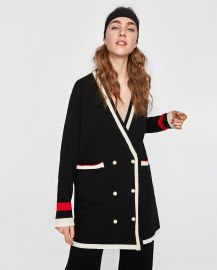 Double Breasted Jacket with Pearl Buttons by Zara at Zara