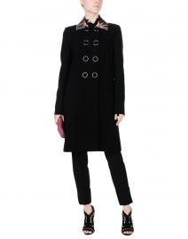 Double Breasted Pea Coat by Emilio Pucci at YOOX