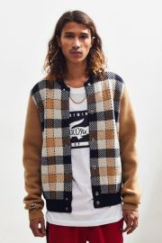 Double Face Teddy Cardigan by Lacoste at Urban Outfitters
