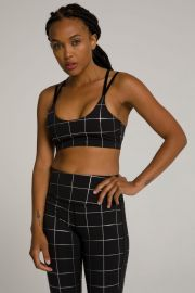 Double Strap Foil Bra by Good American at Good American