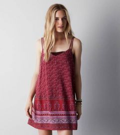 Double Strap Slip Dress at American Eagle